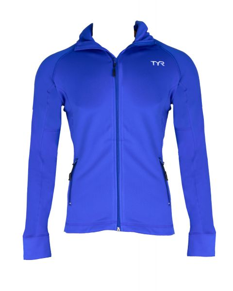 TYR Mujeres Alliance Jacket - Azul Real