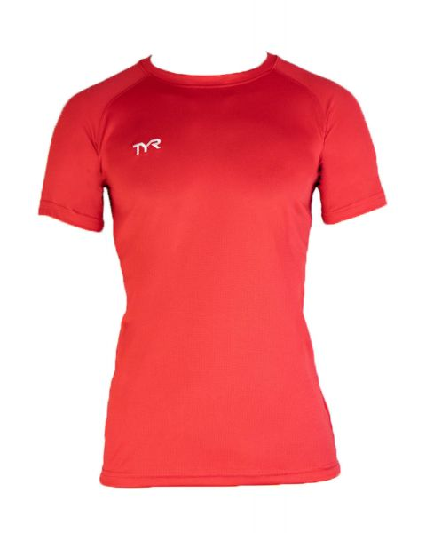 TYR Kinder Tech T-Shirt - Rot