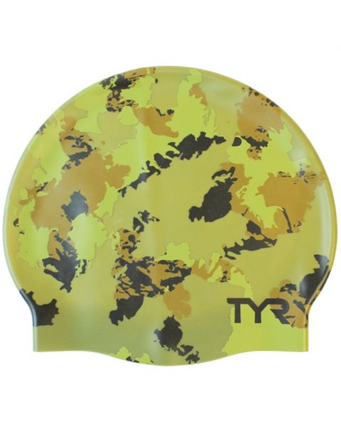 TYR Silicone Badehætte - Camo
