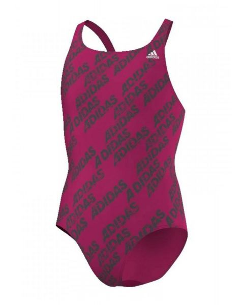 Adidas Ragazze Back To School Costume da nuoto - Rosa