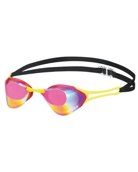 View Blade Zero Mirrored Goggles - Pink/Yellow