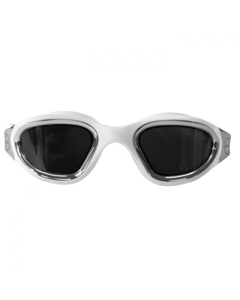Zone3 Vapour Goggles With Polarized Revo Lens - White / Metallic Silver