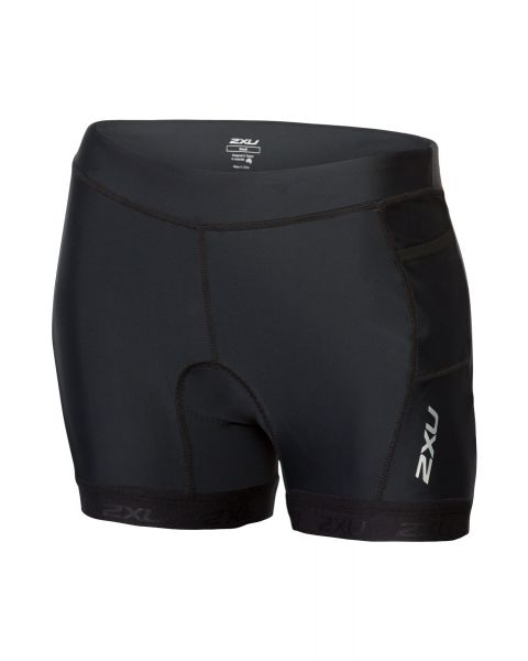 "2XU Damer Active 4.5"" Tri-drakt Svømmeshorts - Sort"