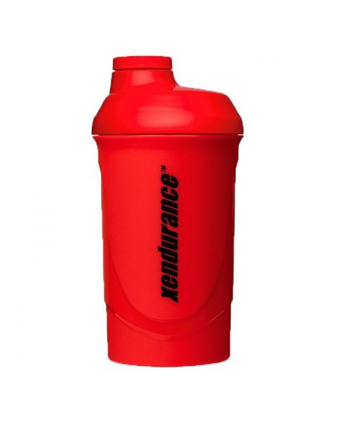 Xendurance 800ml Shaker Bottle - Red