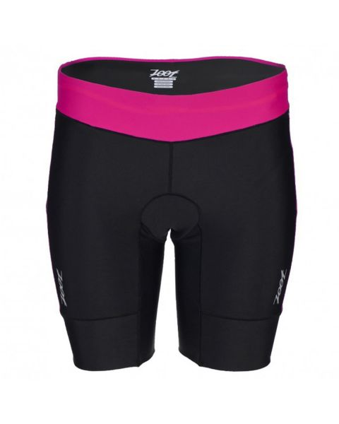 "Zoot Women's Active Tri 8"" Short - Passionfruit / Black"