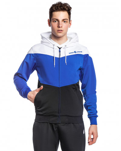 Mad Wave Hooded Jacket Blue