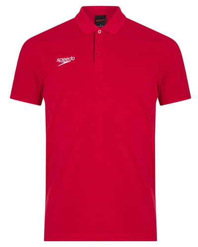 Speedo Polo Shirt Red