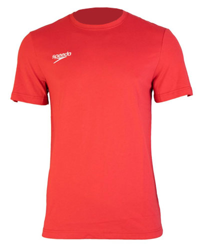 Speedo Cotton Tshirt Red