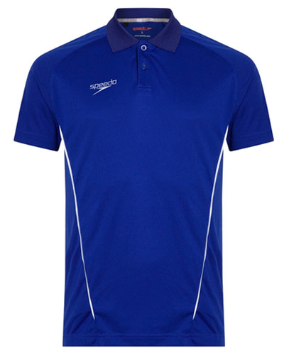Speedo Dry Polo Blue