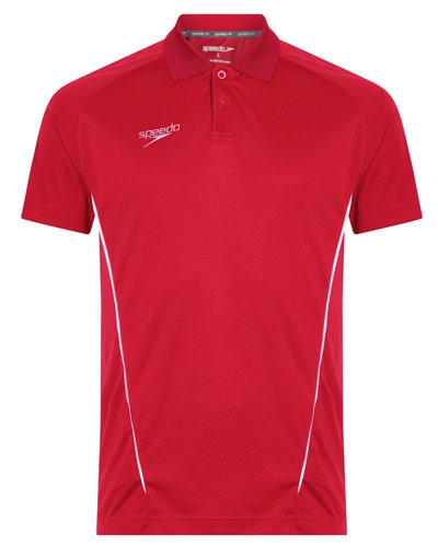 Speedo Dry Polo Red