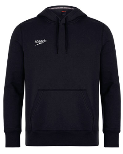 Speedo Hooded Top Black