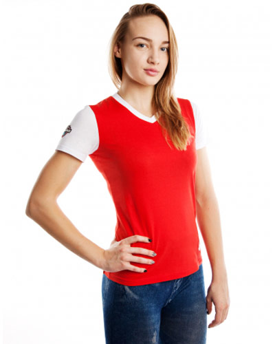 Mad Wave Womens Tshirt Red