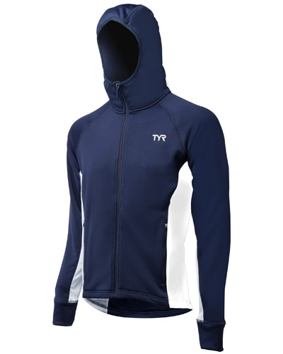 TYR Warmup Jacket Blue