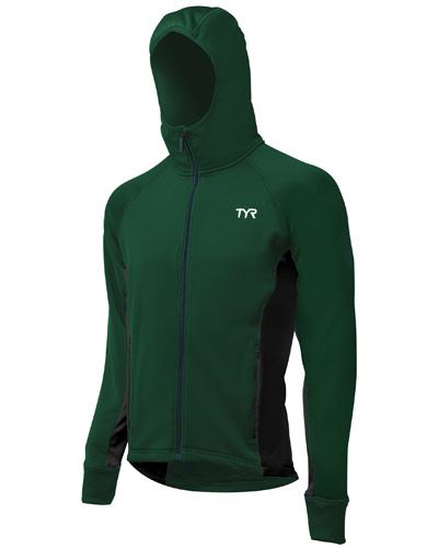 TYR Warmup Jacket Green