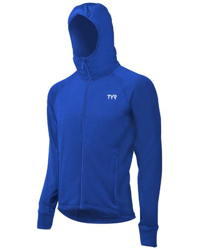 TYR Warmup Jacket Royal Blue