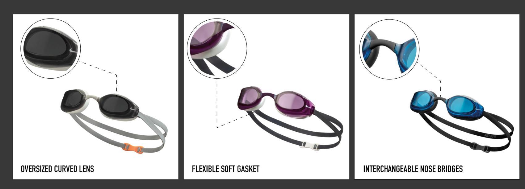 Nike Vapor Goggle Features