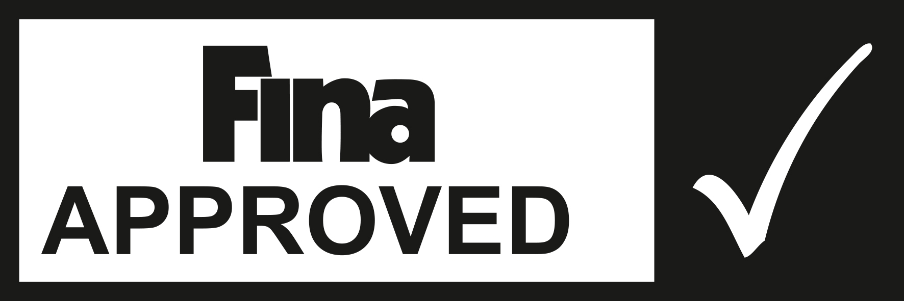 fina approved logo