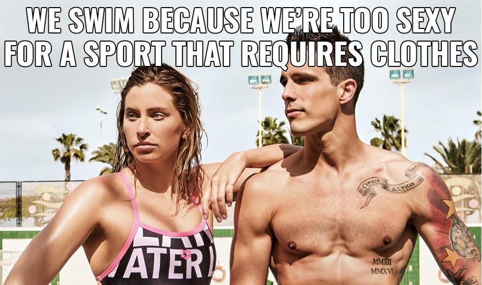 swimming memes