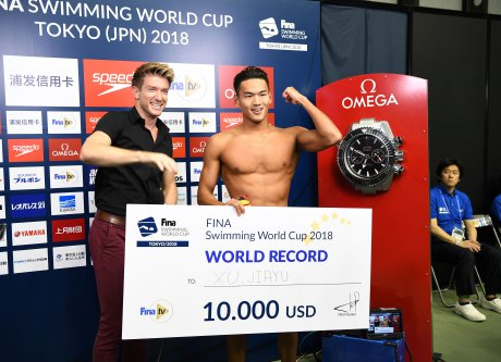 xu jiayu world record fina