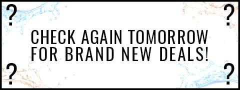 Check Tomorrow