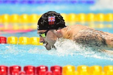 Jacob Peters Swimming