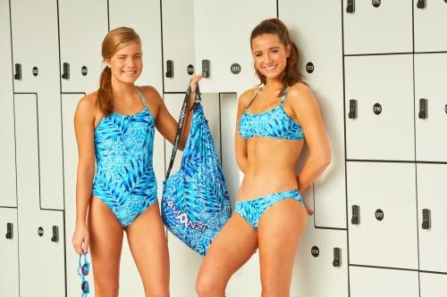 colourful swimwear