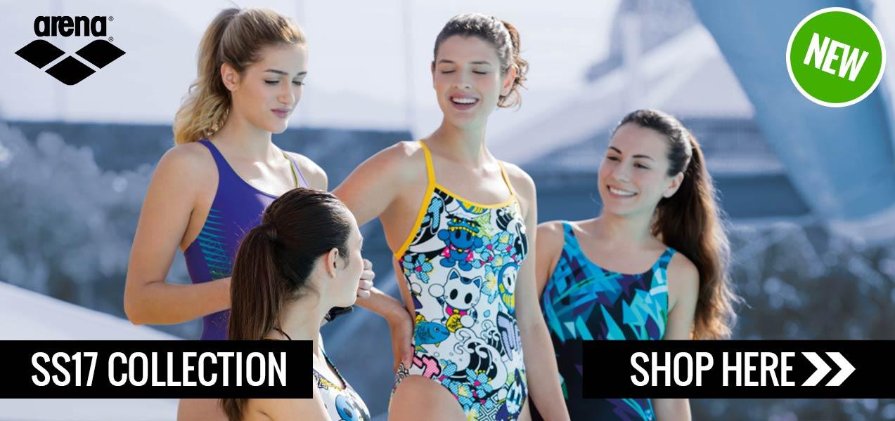 Arena SS17 Swimwear and Equipment