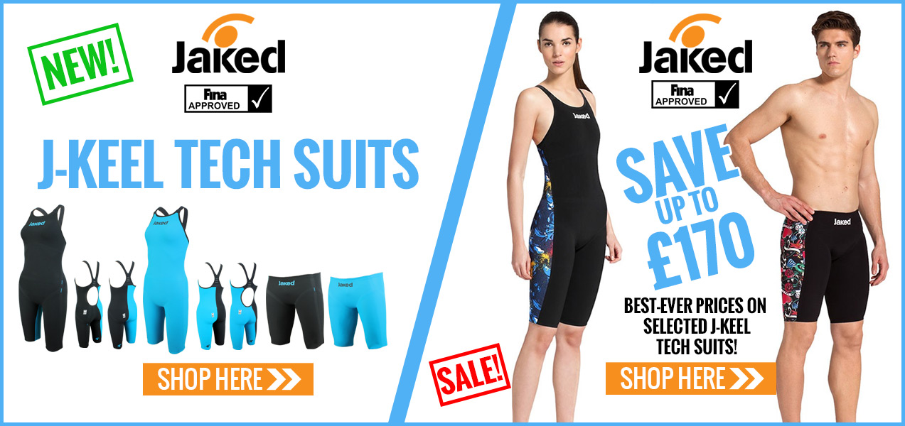 New Jaked J-Keel Racing Swimsuits