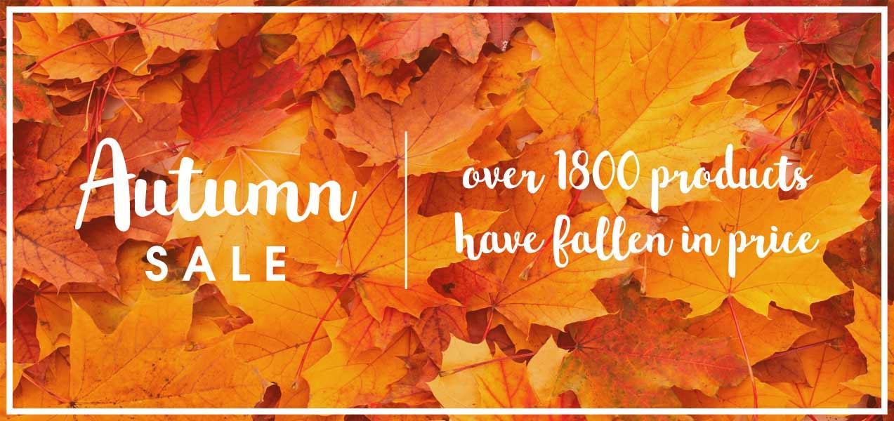 Autumn Clearance Sale