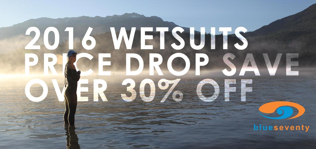 Blueseventy Wetsuits Price Drop