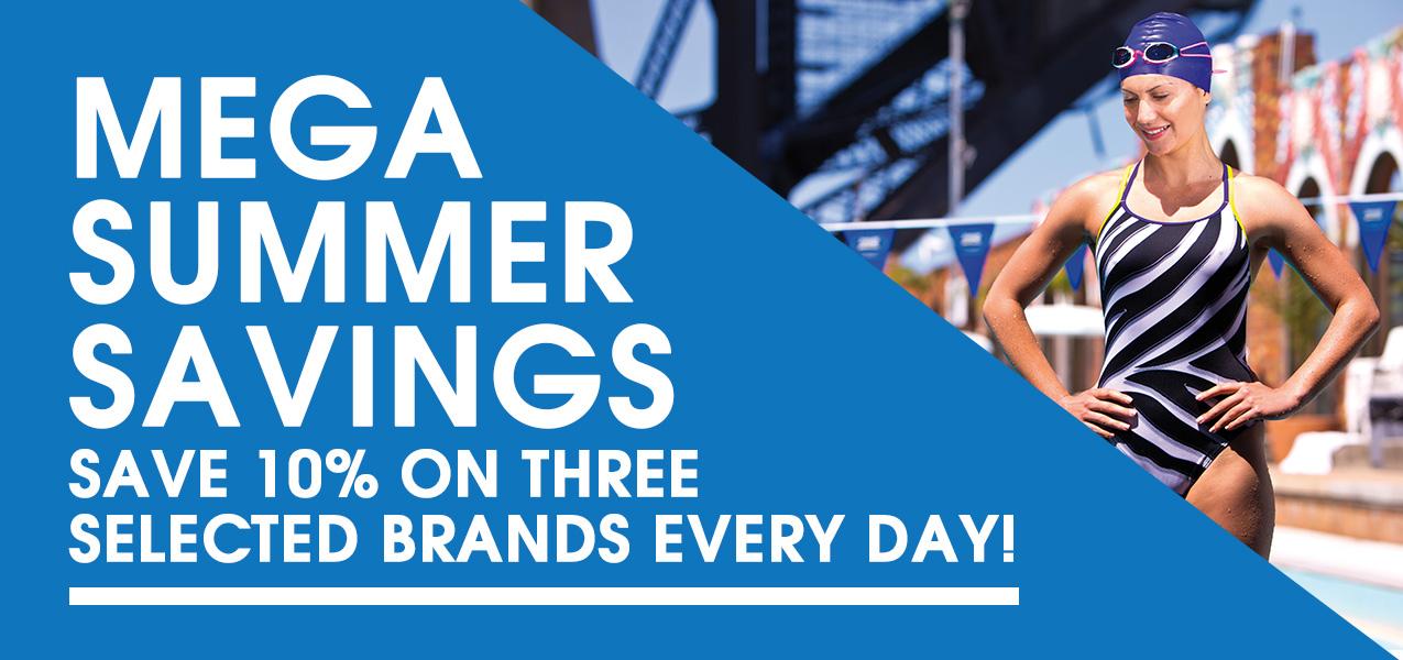 Mega Summer Savings!