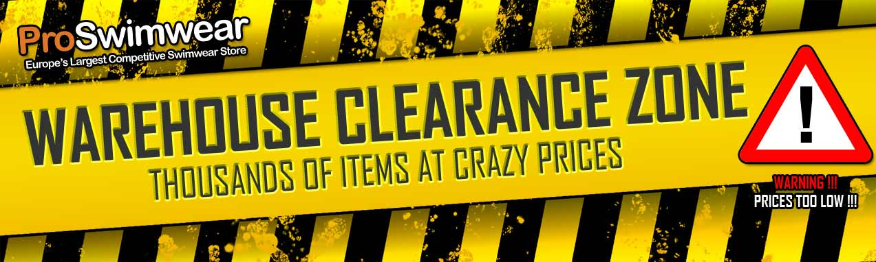 Warehouse Clearance Zone at ProSwimwear - 1500 products on Sale