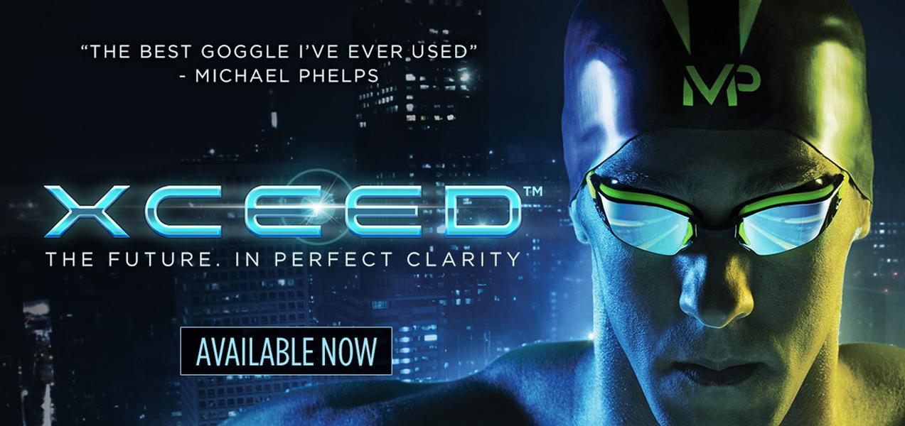 Michael Phelps New XCEED Goggles