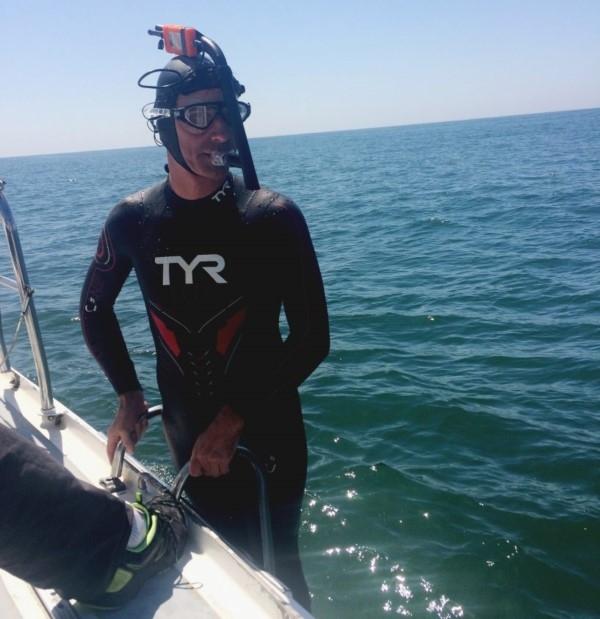 longest swim ben lecomte